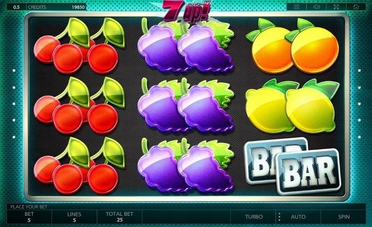 Аппараты «7Up!» — бесплатно в казино Чемпион