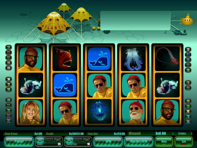 Описание слота «Atlantis» в казино Слот В