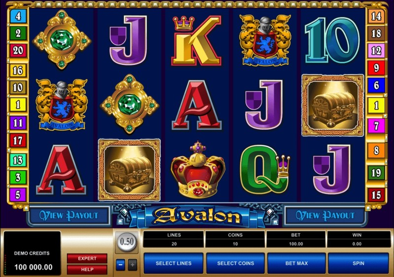 Игровой автомат «Avalon» (Авалон) в онлайн казино Фреш