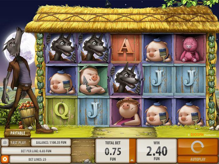 Игровой автомат «Big Bad Wolf» в казино Вулкан Престиж