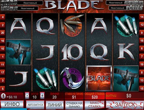 Сол казино зеркало и слоты «Blade»