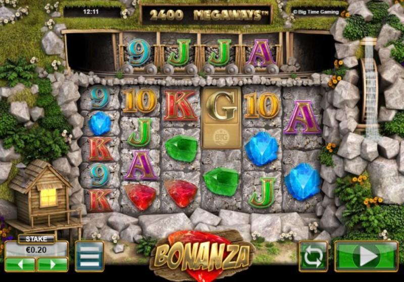 Онлайн автомат «Bonanza» в казино Вулкан 777