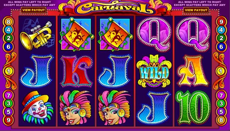 Игровой автомат «Carnival» в Вулкан казино онлайн