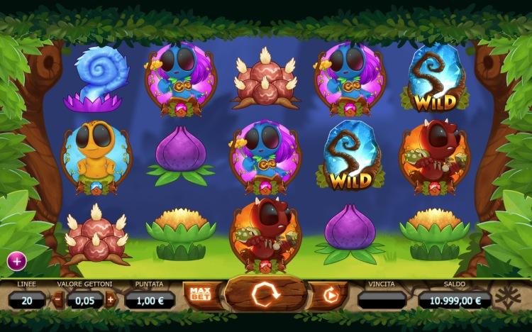Дивные лесные звери автомата «Chibeasties» в Вулкан казино онлайн