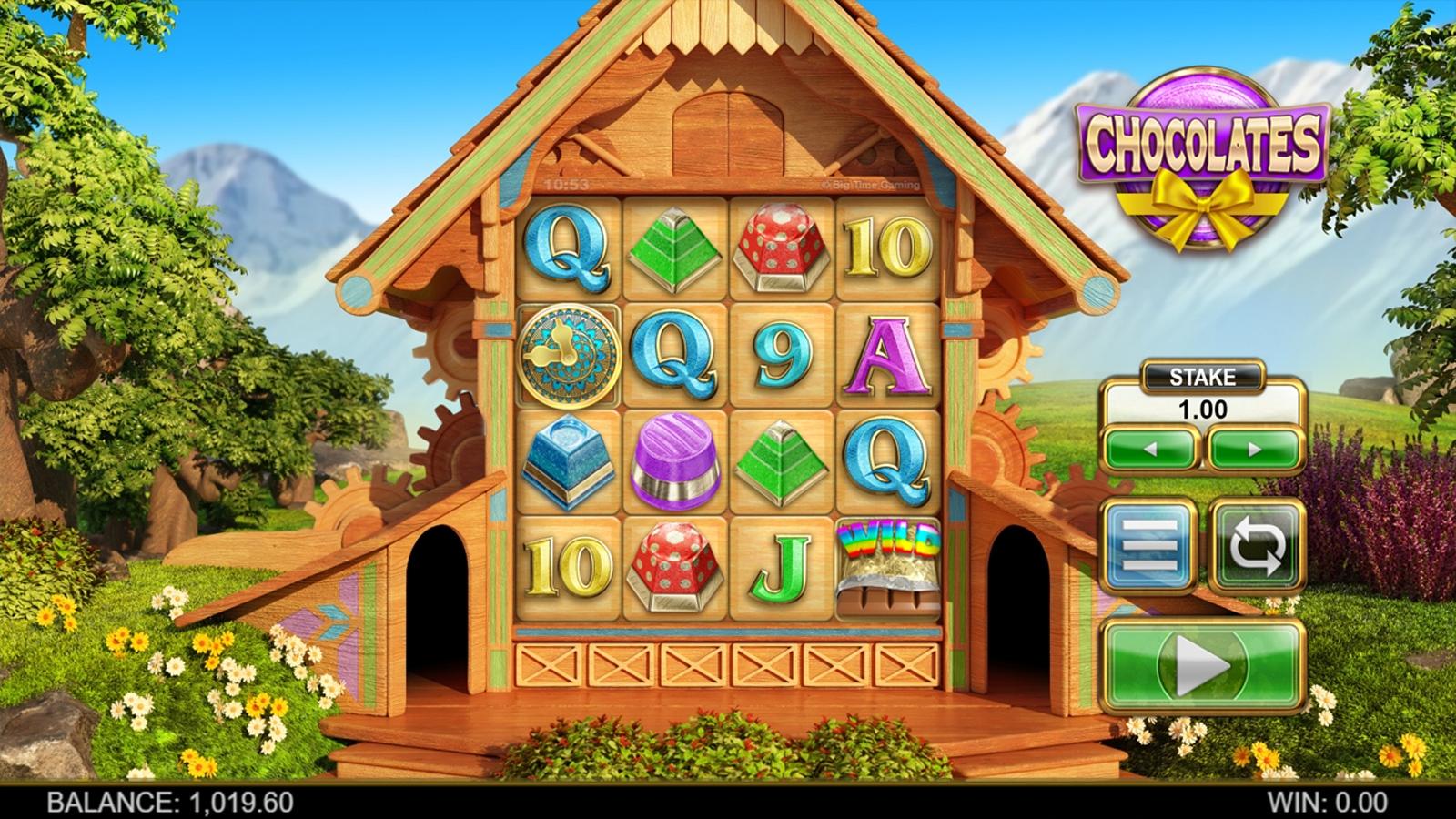 «Chocolates» — игровые автоматы играть бесплатно без регистрации на портале казино Фараон