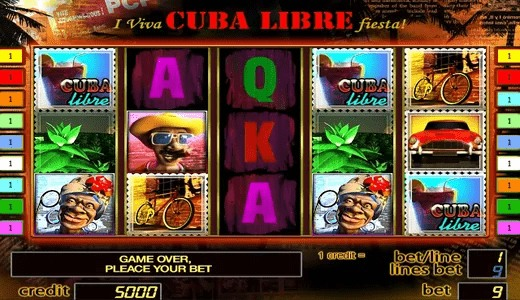 Описание слота «Cuba» в казино Вулкан
