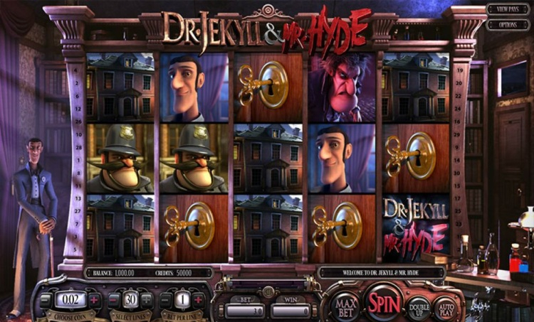 Игровой автомат «Dr Jekyll & Mr Hyde» в казино Вулкан 24