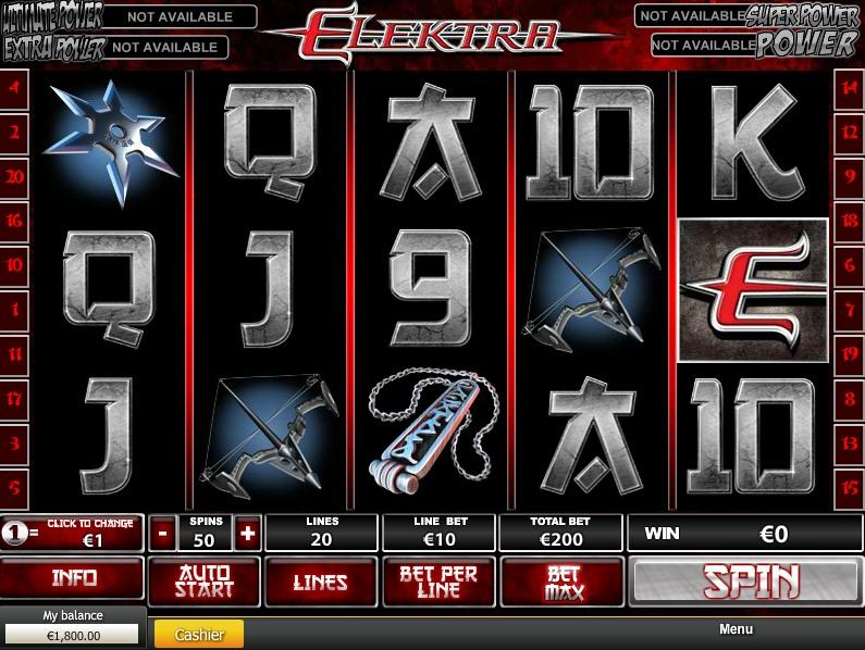 Описание слота «Elektra» от Джокер казино