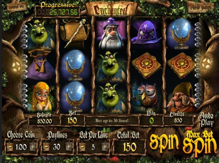 Описание слота Enchanted в казино Вулкан Старс