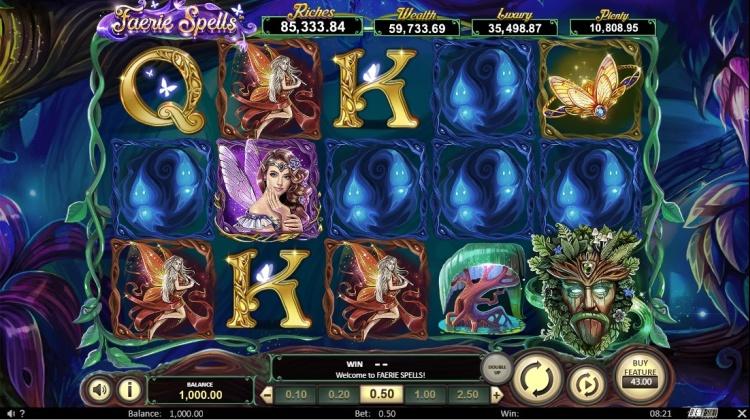 Игровой автомат «Faerie Spells» в онлайн казино Фараон