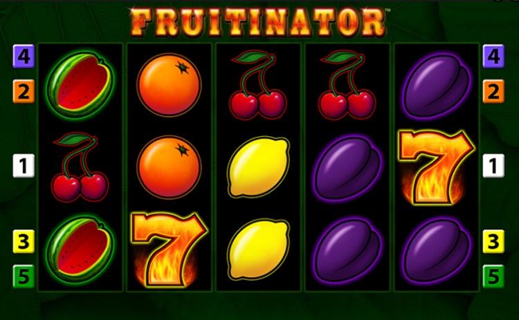 Игровой автомат «Fruitinator» в казино Фарфон