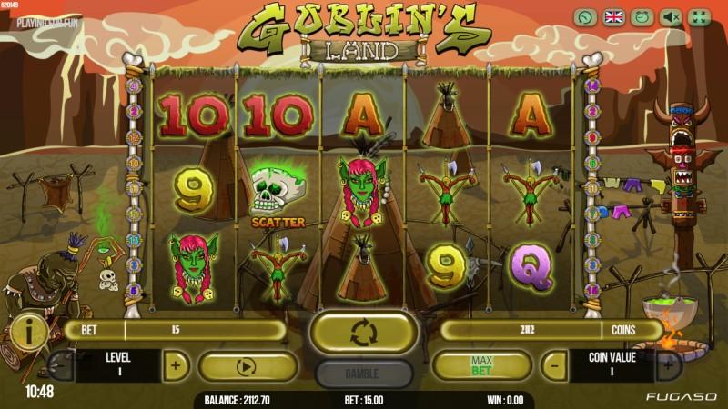 Слоты «Goblins Land» играйте в online casino