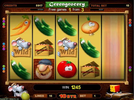 Онлайн слоты «Greengrocery» от казино Вулкан 24