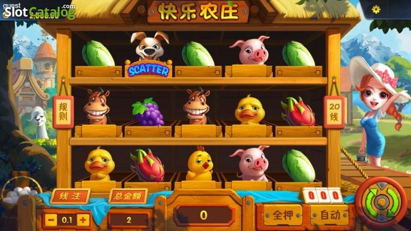 Описание эмулятора «Happy Farm» в онлайн казино Слот В