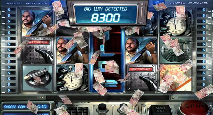 Игровые аппараты на деньги «Heist» в казино Вулкан