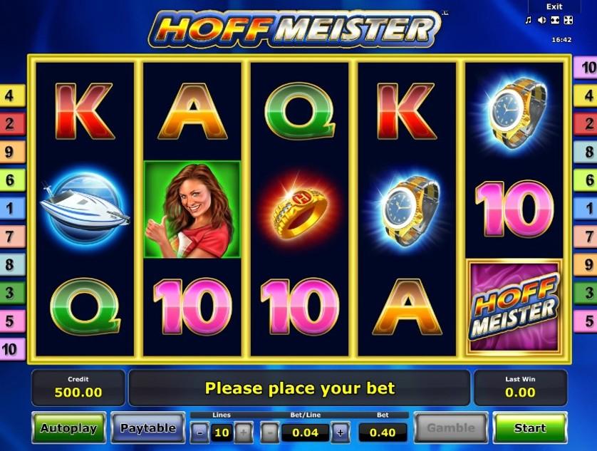 Описание слота «Hoffmeister» в казино Вулкан онлайн