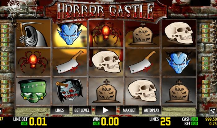 Игровой автомат «Horror Castle» в казино Slot V