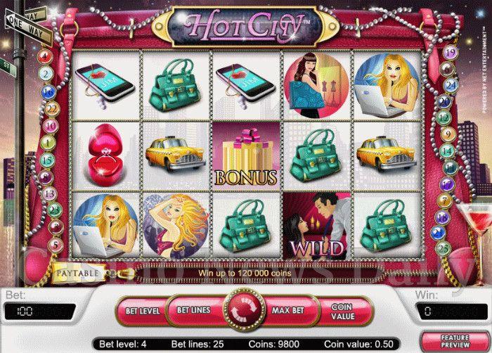 Огни роскошного городов в слоте «Hot City» от казино Вулкан (wulkanrussia.com)