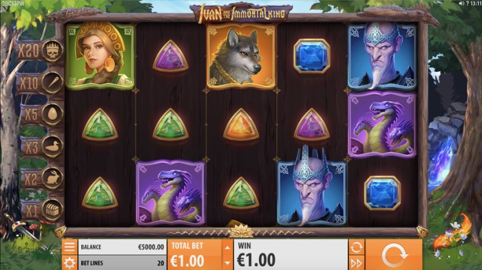 Автоматы бесплтатно «Ivan and the Immortal King» в казино MaxBetSlots
