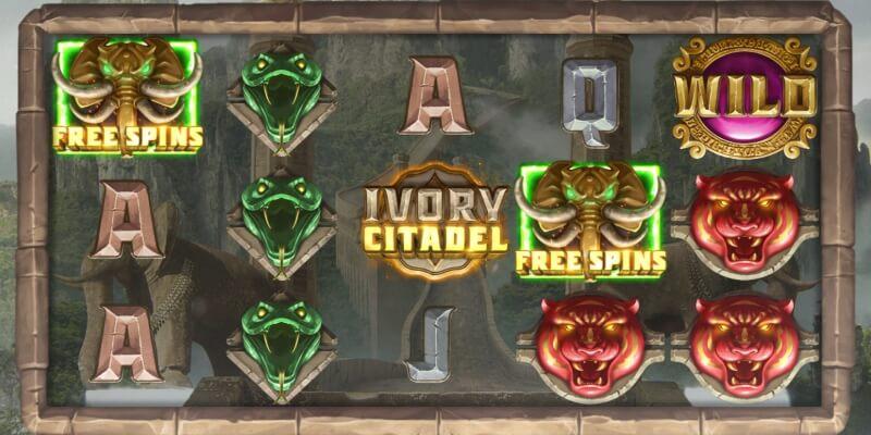 Игровой автомат «Ivory Citadel» в Vavada casino