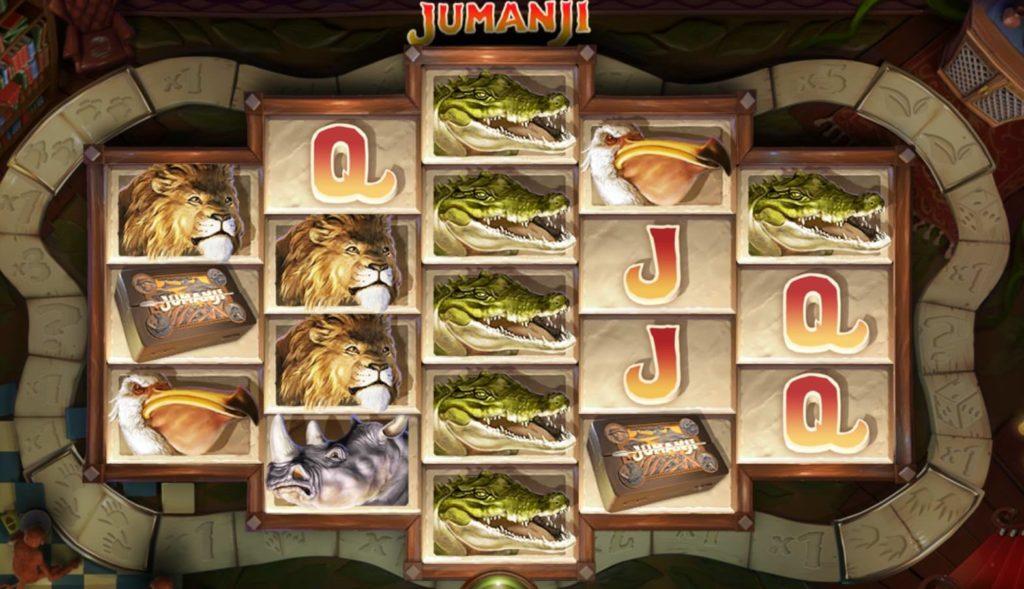 Игровой автомат «Jumanji» в казино Фараон