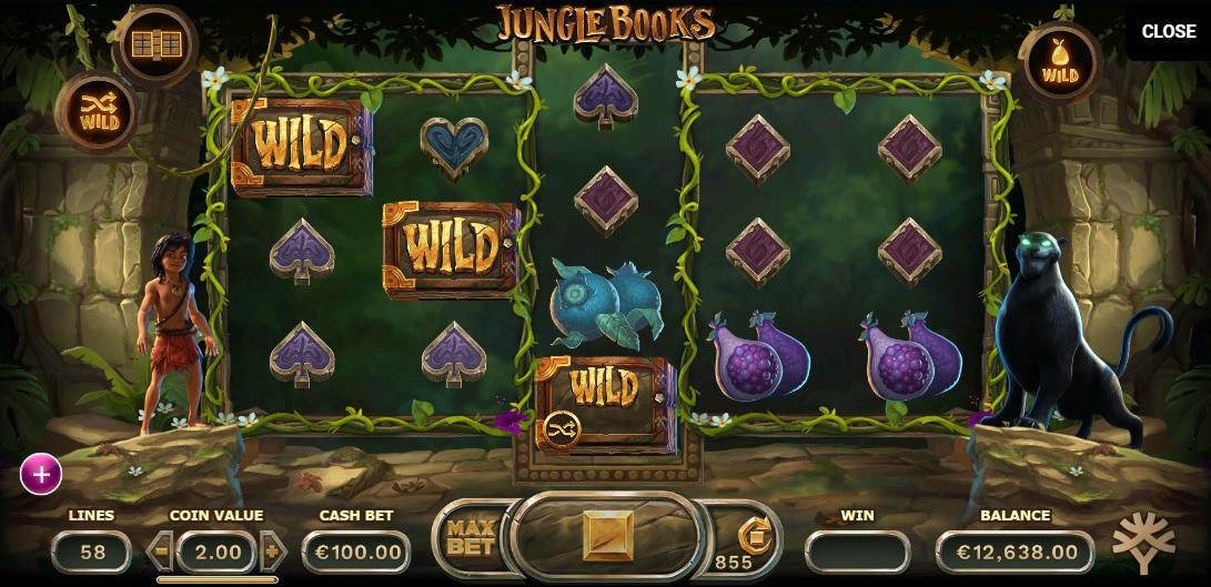 Игровые слоты «Jungle Books» в казино Вавада