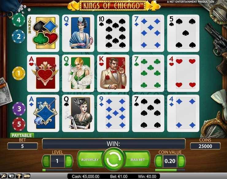 Игровой автомат «Kings of Chicago» и официальный сайт Play Fortuna