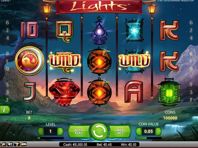 Слот «Lights» и казино Вулкан — играть онлайн и выигрывать