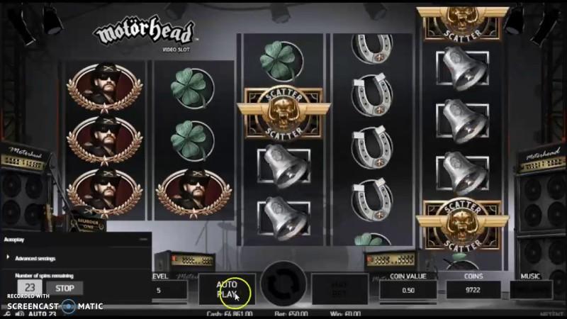 Игровой автомат «Motörhead» от клуба Вулкан онлайн