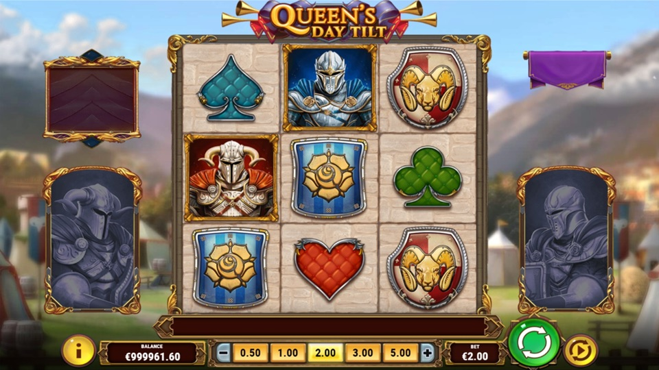 Казино Вулкан на деньги и слоты «Queen's Day Tilt»