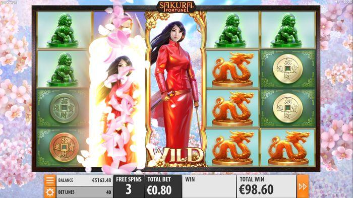 Неповторимая восточная атмосфера слотов «Sakura Fortune» — начни играть онлайн в казино Вулкан