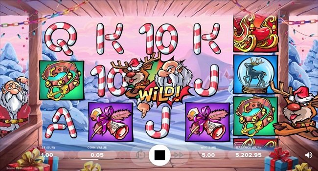 Игровой автомат «Santa vs Rudolf» на зеркале Joycasino