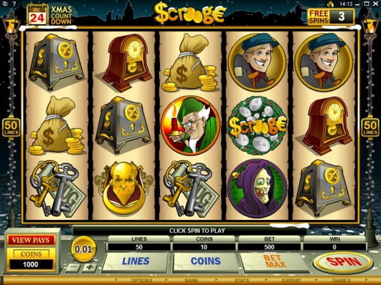 Игровой автомат «Scrooge» от казино Азимут 777