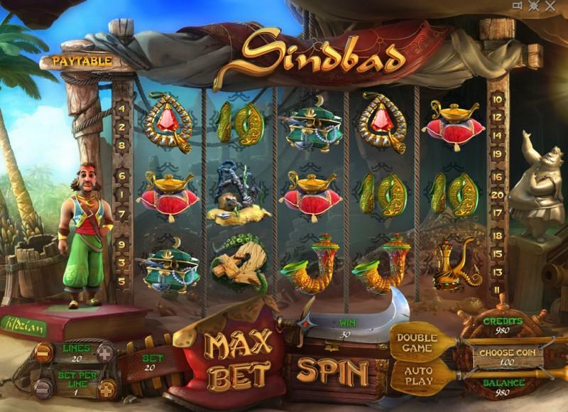 Игровой автомат «Sindbad» — играйте на деньги в Вулкане