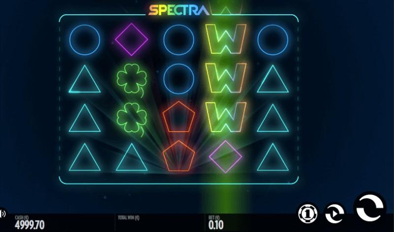 Игровой автомат Вулкан на реальные деньги «Spectra»