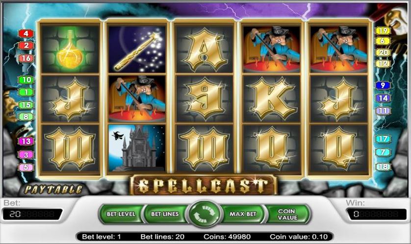 Игровые аппараты онлайн «Spellcast» в казино Вулкан