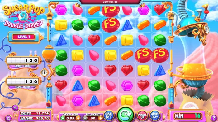 Игровой автомат «SugarPop 2: Double Dipped» в онлайн казино Slot V