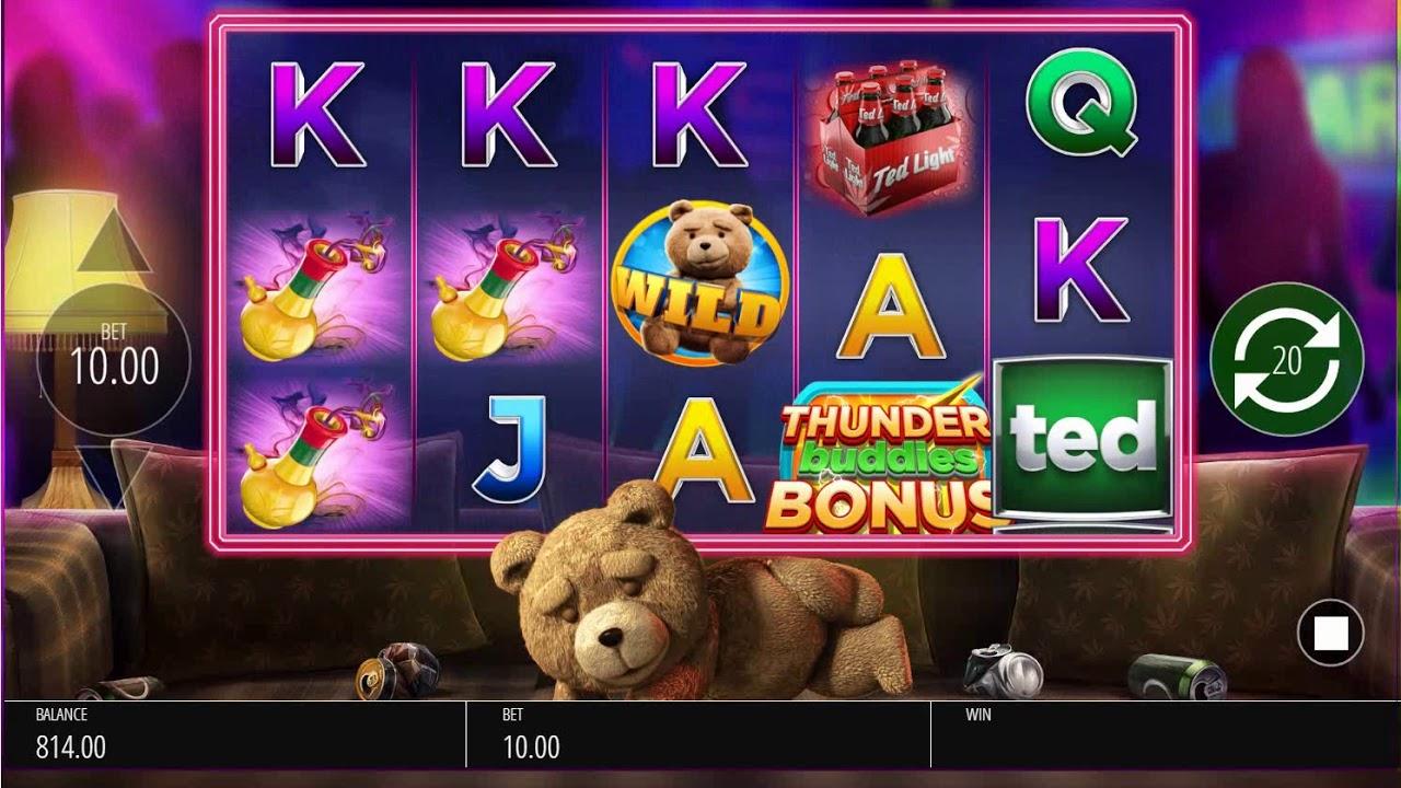 Казино онлайн Sloterman и игровые автоматы «Ted»