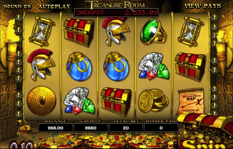 Описание слота «Treasure Room» от Rox casino