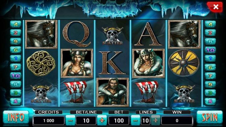 Игровые слоты «Vikings» в казино 777