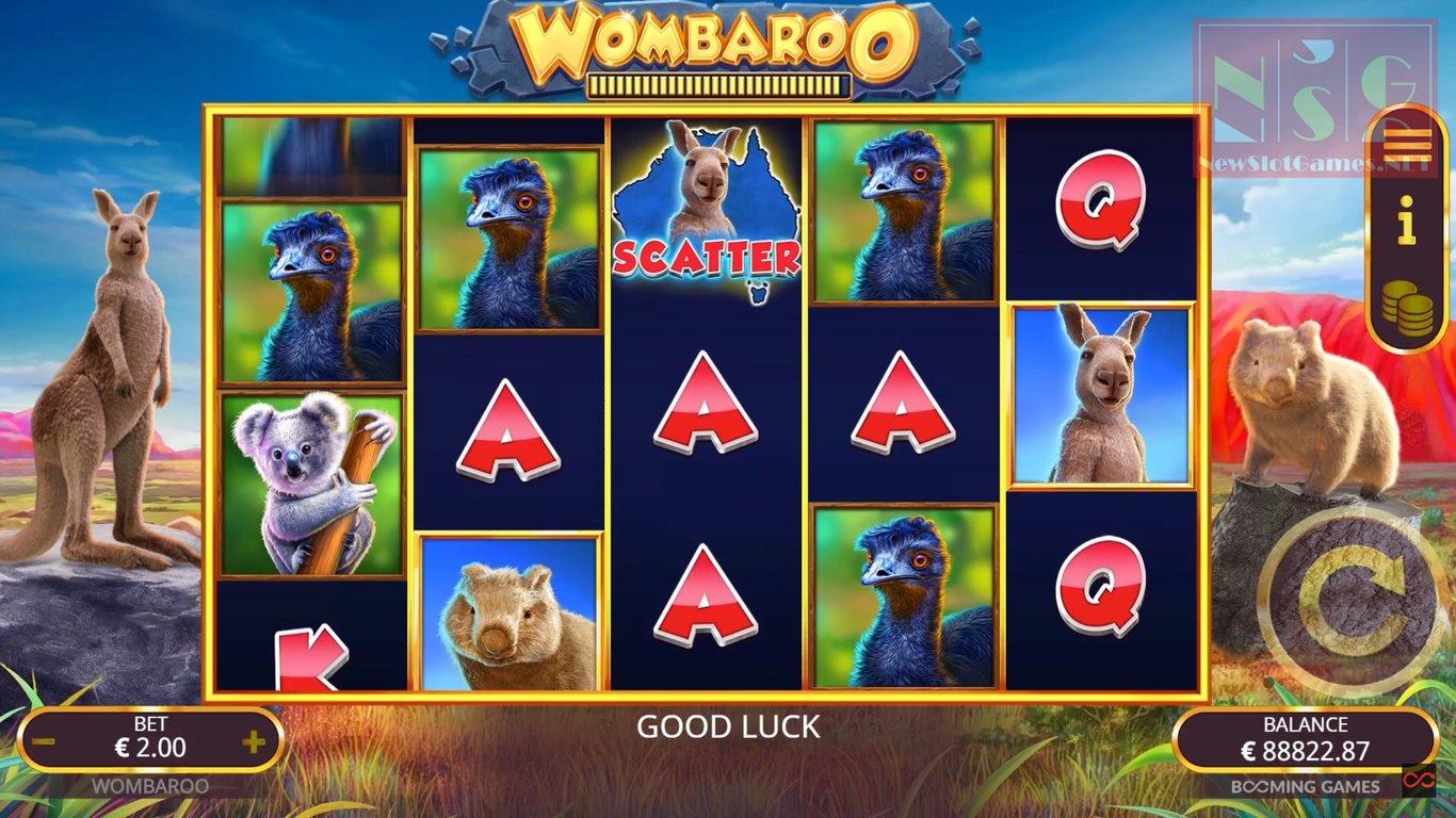 Вход на сайт Play Fortuna откроет ориганальные слоты «Wombaroo»