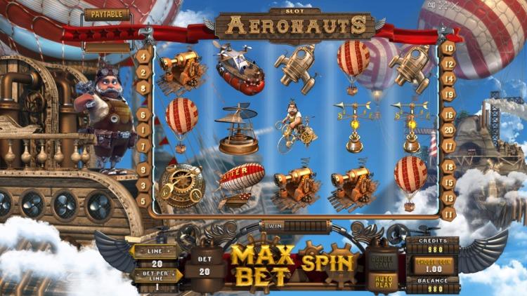 Игровой автомат «Aeronauts» в казино Фортуна