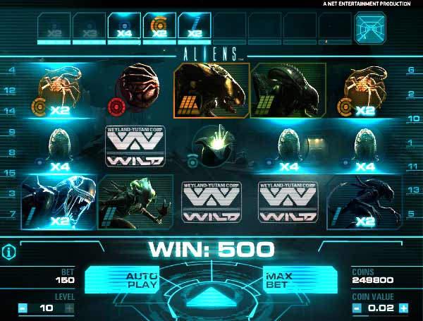 Бесплатное казино Ноу Мани Слотс рекомендует слоты «Aliens»