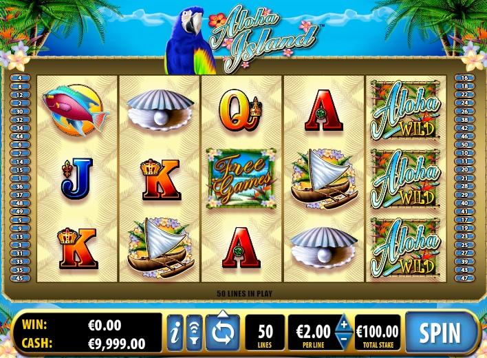 Онлайн слоты «Aloha Island» — начните играть в казино Фараон 777