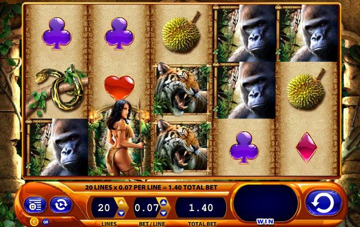Описание слота «Amazon Queen» в казино Император