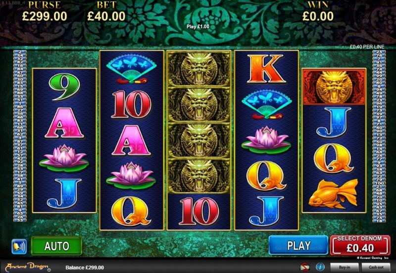 Вулкан игровые автоматы на деньги «Ancient Dragon»