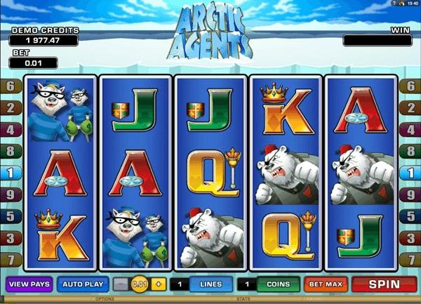 «Arctic Agents» — новые игровые автоматы играть бесплатно без регистрации в казино Адмирал