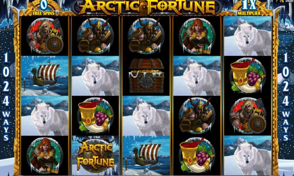 Игровой автомат «Arctic Fortune» в клубе Плейдом