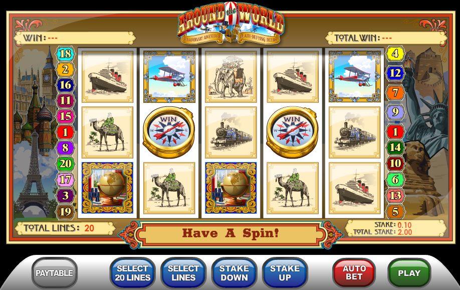 Слоты «Around The World» и официальный сайт Сол казино онлайн