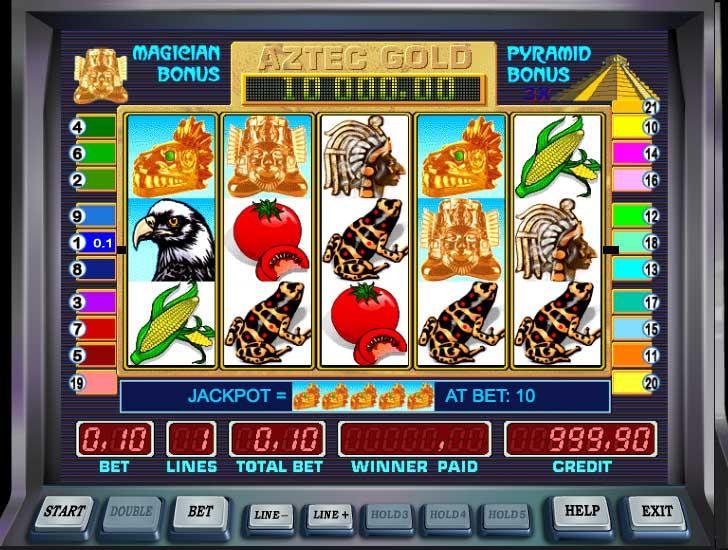 Описание слота «Aztec Gold» в казино Вавада